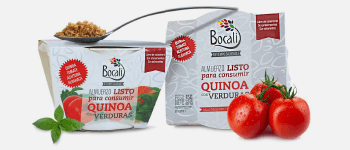 Exquisitos productos con Quinoa Lista en distintas presentaciones, de Bocali para todo Chile